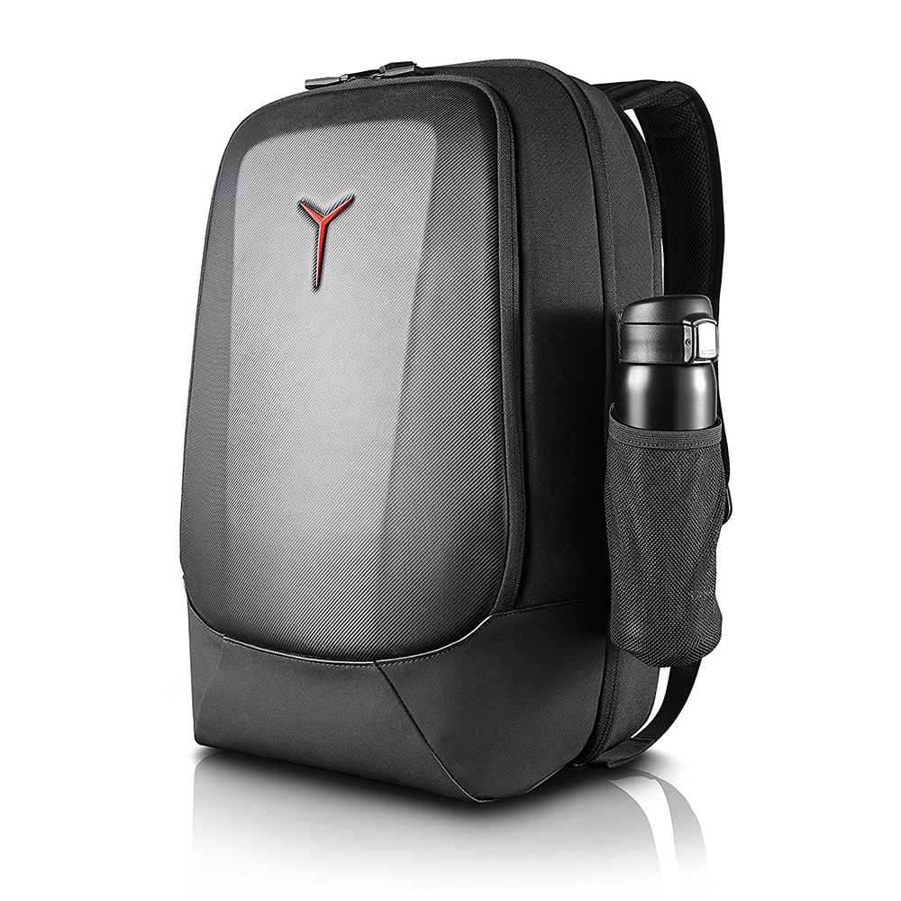Lenovo Legion Armored 17 inch Gaming Backpack, maximum protection,  weatherproof vinyl exoskeleton, full of pockets