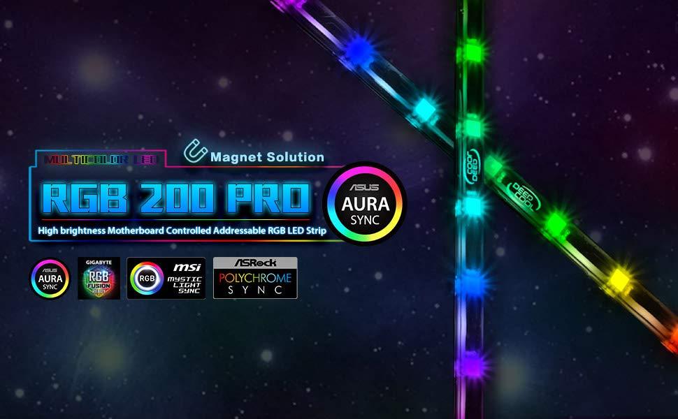 100% authentic c3c24 c6124 DEEPCOOL RGB 200PRO RGB LED Strip